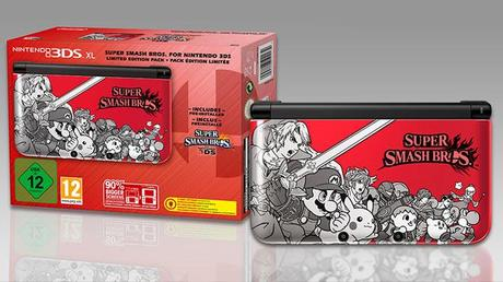 Super Smash Bros. : un bundle 3DS XL en Europe