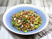 Salade quinoa estivale