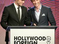 HFPA Grants Banquet : Robert Pattinson