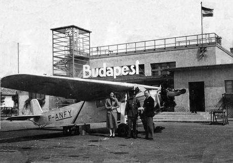 L'Europe à vol d'oiseau en 1937 par Daniel de Bergevin