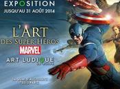 L'Art Super Héros Marvel s'achève Musée Ludique Paris
