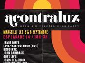 Festival musique électronique Acontraluz Marseille (places cadeaux)
