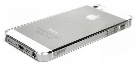 Coque de protection transparente ultrafine pour iPhone 5 et iPhone 5S