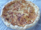 Quiche camembert sans oeufs