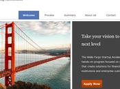 Wells Fargo chaperonne startups