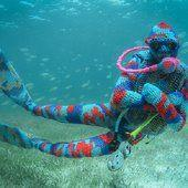 This artist creates beautiful underwater crochet installations - Lost At E Minor: For creative people