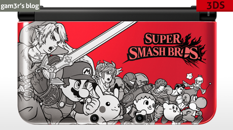 Une 3DS XL Super Smash Bros. en approche !