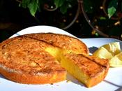 Gâteau polenta agrumes