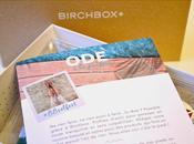 [Box] L'ode paresse selon Birchbox