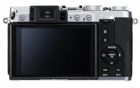 Nouvel appareil photo numérique compact Fujifilm X30 avec viseur électronique temps réel