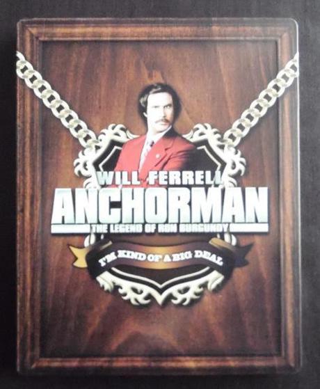 Anchorman, the legend of Ron Burgundy [Blu-ray Steelbook]
