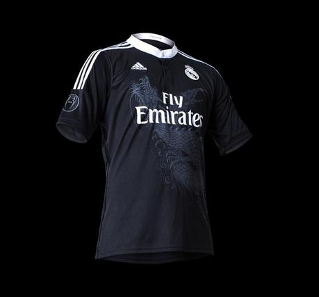 photo maillot real madrid noir dragon 1