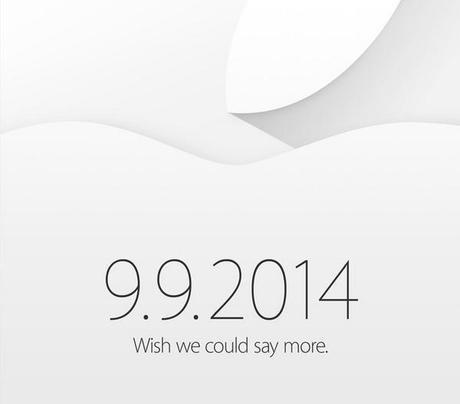 Apple événement 9 septembre 2014