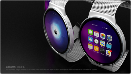 iWatch concept Mark Bell sur Behance