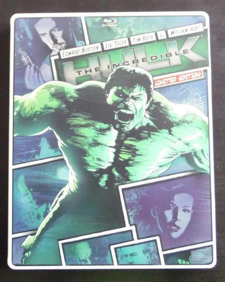 The Incredible Hulk [Blu-ray Steelbook]