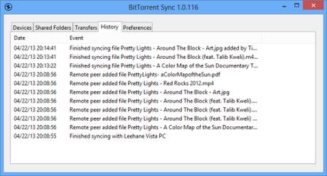 bittorrent sync partager vos fichier internet1 Partager des fichiers avec vos amis sans passer par le cloud