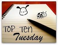 Top Ten Tuesday - Les 10 livres que vous ne possédez pas (encore) mais que vous mourrez d'envie de lire