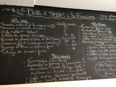 L'ACTE 1 : DES TAPAS À LA FRANÇAISE