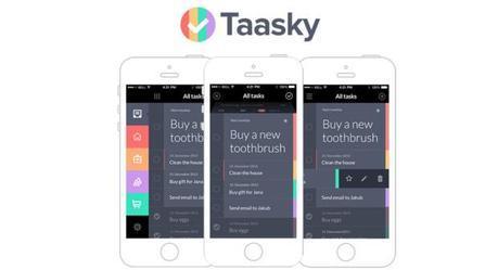 La très bonne App de liste de tâches Taasky est gratuite