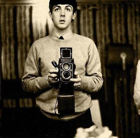Le selfie de Paul McCartney en 1959