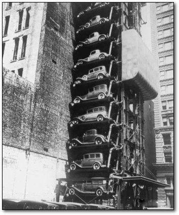 Parking vertical Chicago 1936