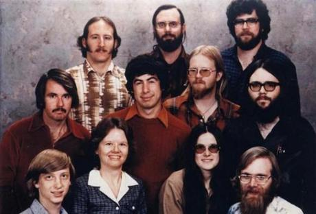 The-Microsoft-staff-in-1978