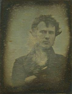 Auto-portrait de Robert Cornelius (1839) ou The first Selfie