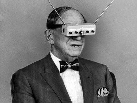 Inventor-Hugo-Gernsback-is-demonstrating-his-television-goggles-in-1963
