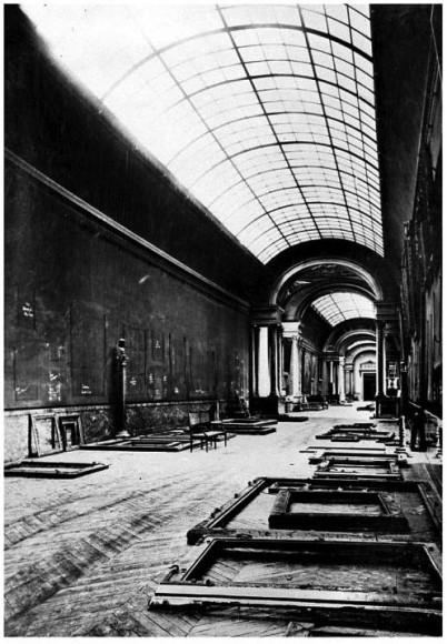 The LOUVRE, the world's greatest art museum (along with The Hermitage), during World War II Nazi occupation