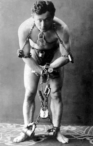 Harry Houdini, the world's greatest escape artist, 1899