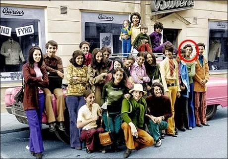 Osama-bin-Laden-with-his-family-visiting-Falun-in-Sweden-in-70′