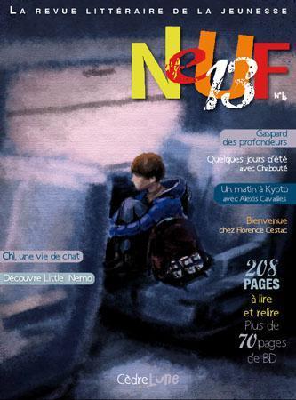 Neuf 13, magazine littéraire pour la jeunesse: tous les genres graphiques et littéraires