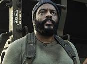 Walking Dead, saison Sasha Tyreese prennent pose