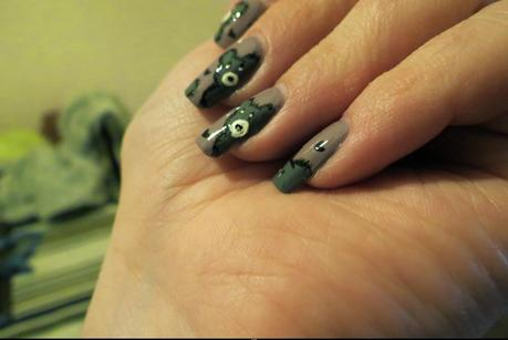 Nail Art #4 : Petit Ours