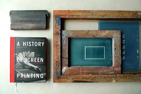 A history of screenprinting / Photo Š Dezzig