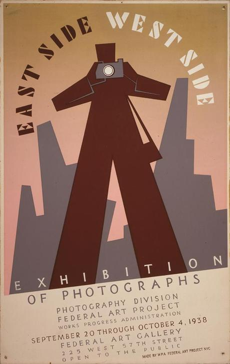 East Side West Side Exhibition par Anthony Velonis - WPA posters