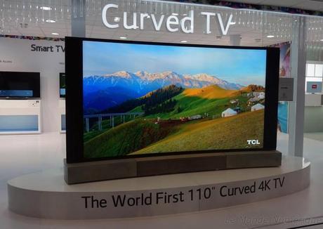 IFA 2014 : TCL commercialise la plus grande télévision Ultra HD incurvée au monde