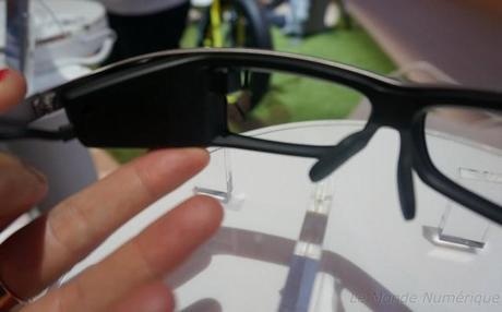 IFA 2014 : Sony présente ses lunettes connectées