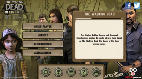 The Walking Dead Pinball test (1)