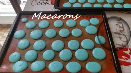 Macarons au lemon curd Thermomix 3