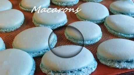 Macarons au lemon curd Thermomix 4