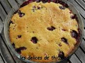 Gâteau express fruits rouges