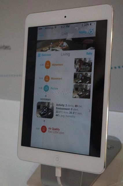 IFA 2014 : Withings présente Home, la caméra de surveillance familiale
