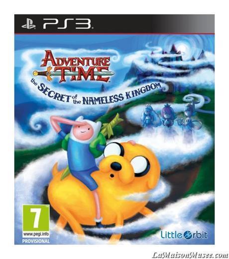 Adventure Time Jaquette Jeu PS3