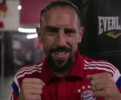 Franck Ribéry monte sur le ring