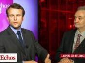 Emmanuel Macron, petits jeunes gens réalistes