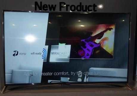 IFA 2014 : Thomson lancera une TV Ultra HD incurvée de 65 pouces début 2015