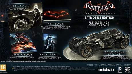 Batman Collec [NEWS] Batman Arkham Knight daté, avec des bat collectors !