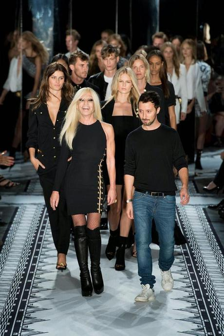 Fashion week de New York : Le défilé Anthony Vaccarello pour Versus Versace...
