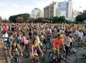 Argentine vélos l'assaut Buenos Aires